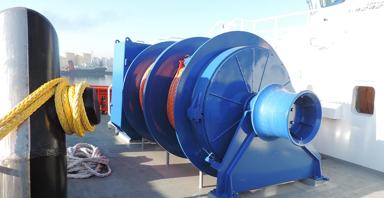towing winch rotor tug